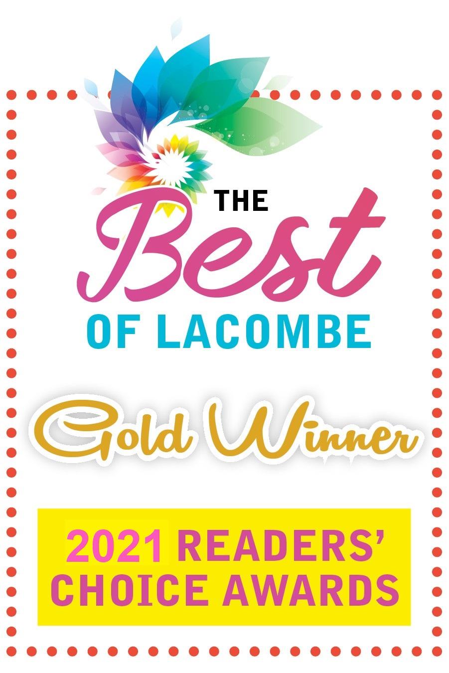 Best in Lacombe 2021 Award